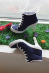 High heeled tennis shoes