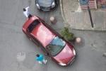 Nice corner parking
