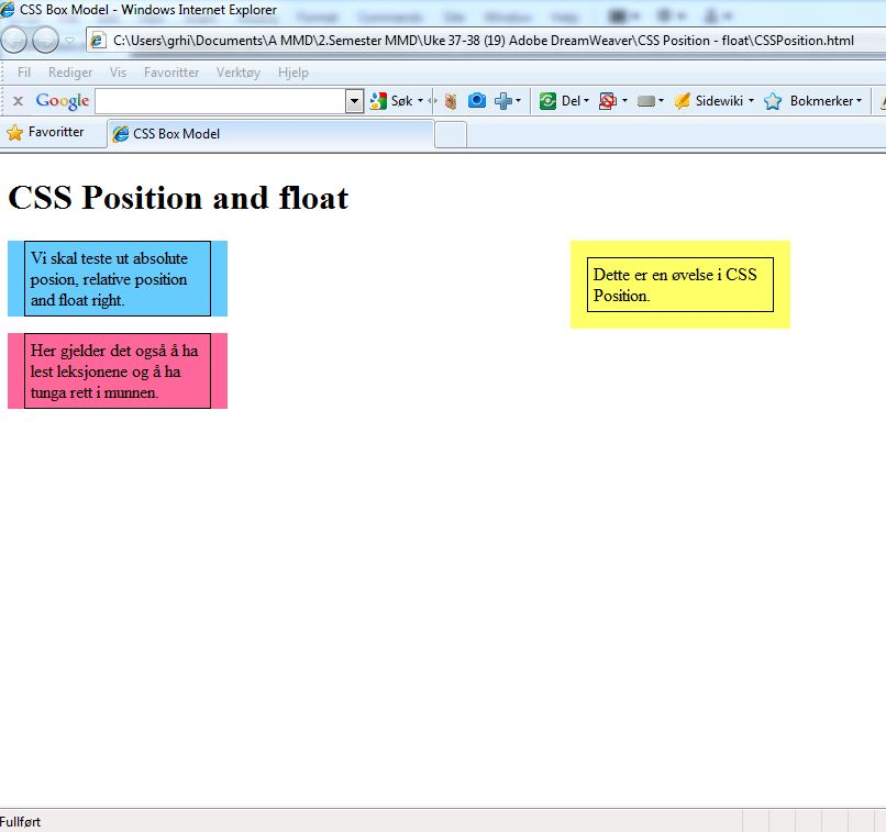 css how to clear float